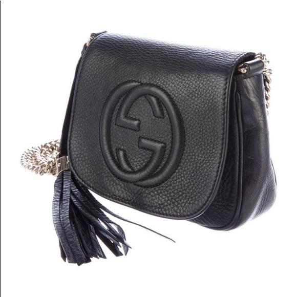 d0c1418a358683 Gucci Bags | Soho Chain Link Crossbody Bag | Poshmark